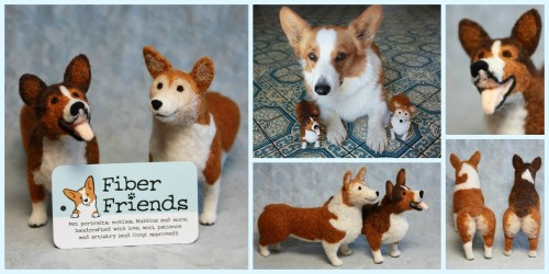 Fiber Friends Fundraiser for Corgi Connection of Kansas