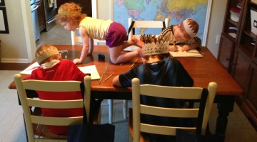 Homeschooling with a Preschooler (or Two) in the House