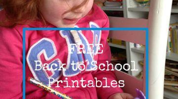 FreeBacktoSchoolPrintables