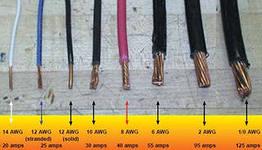 Определение сечения проводов и кабелей