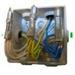 Скрутка с использованием опрессовочной втулки
