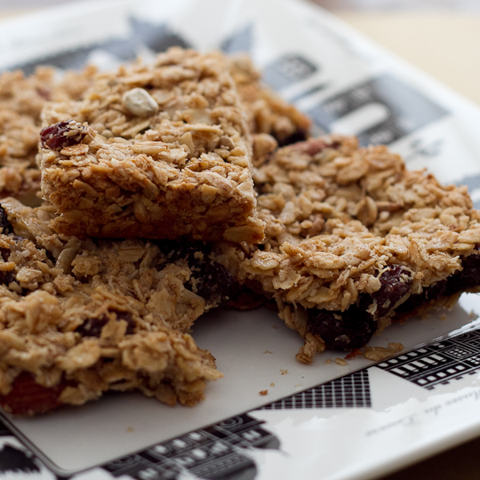 Easy Made Granola Bars