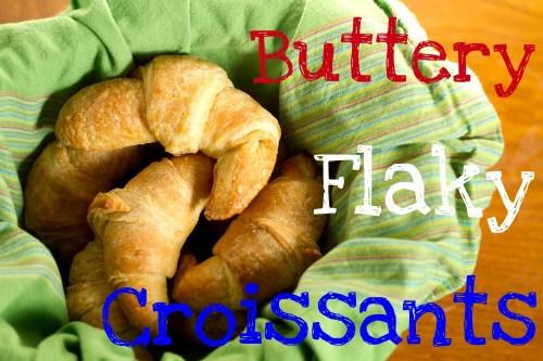 basket of croissants