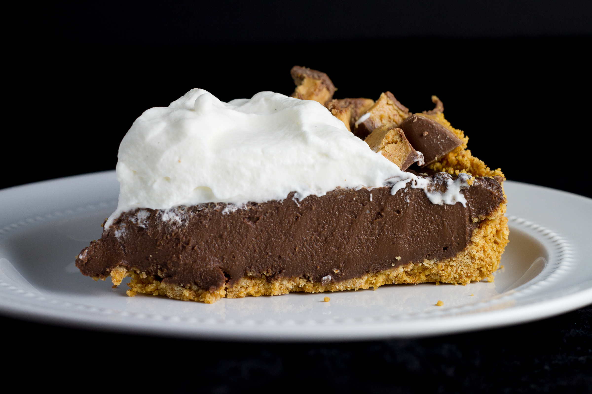 Chocolate Truffle Peanut Butter Egg Easter Pie - Poet in ...
