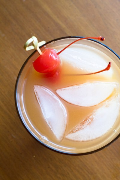 Pirate's Booty Call cocktail - Poet in the Pantry