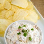 Loaded Baked Potato Dip - Poet in the Pantry