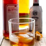 An Old Fashioned never goes out of style. This version has a dash of blood orange bitters, too, to make it all the more special.