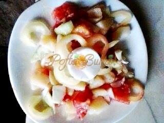 Salata de vara de cartofi-Tania Ionescu