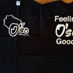 """Feeling O'so Good"" Mens T-Shirt Black"