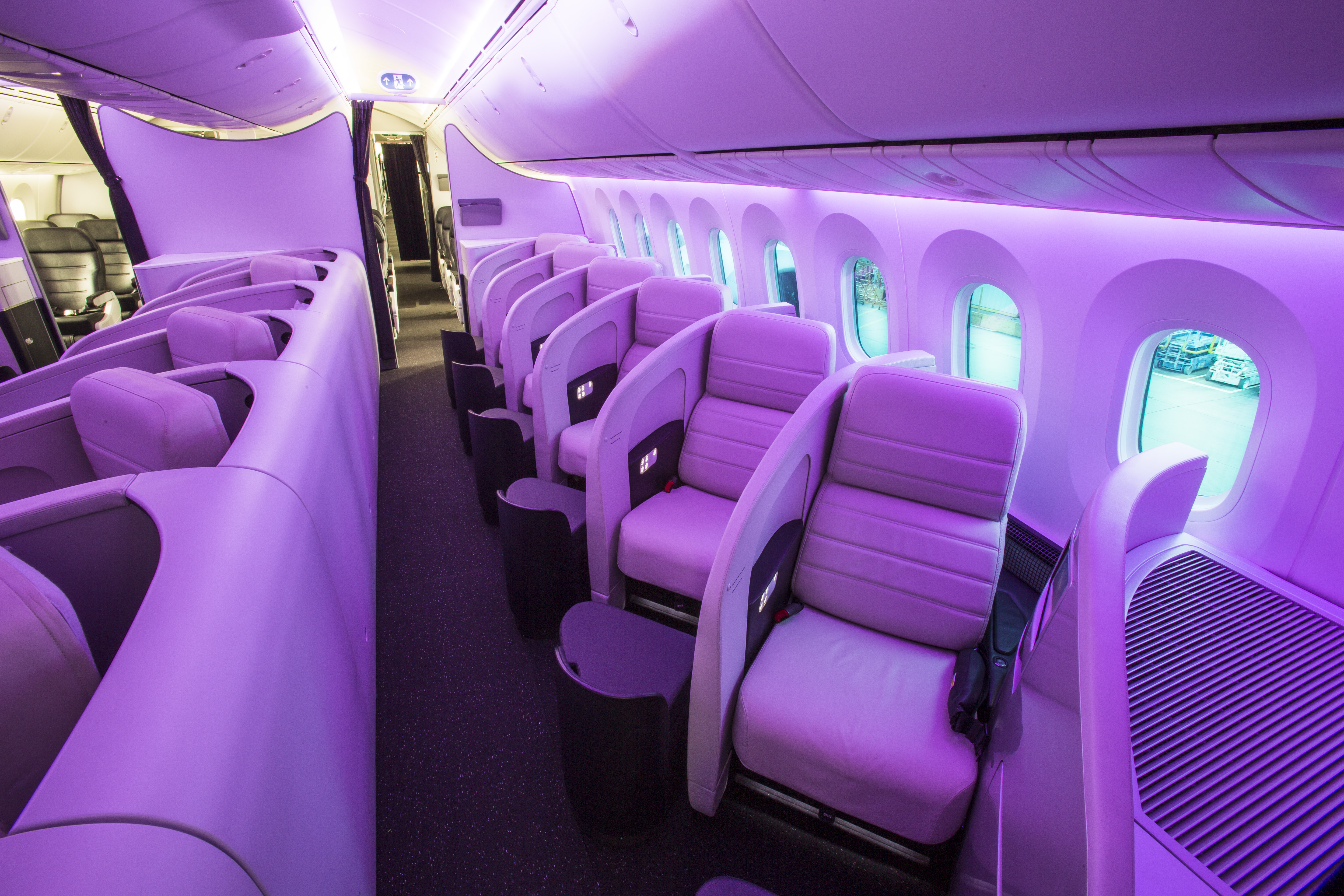 Look Inside The Awesome New Air New Zealand B787 9 Cabin