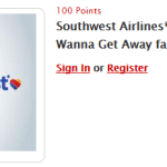 Southwest Airlines My Coke Rewards Certificate