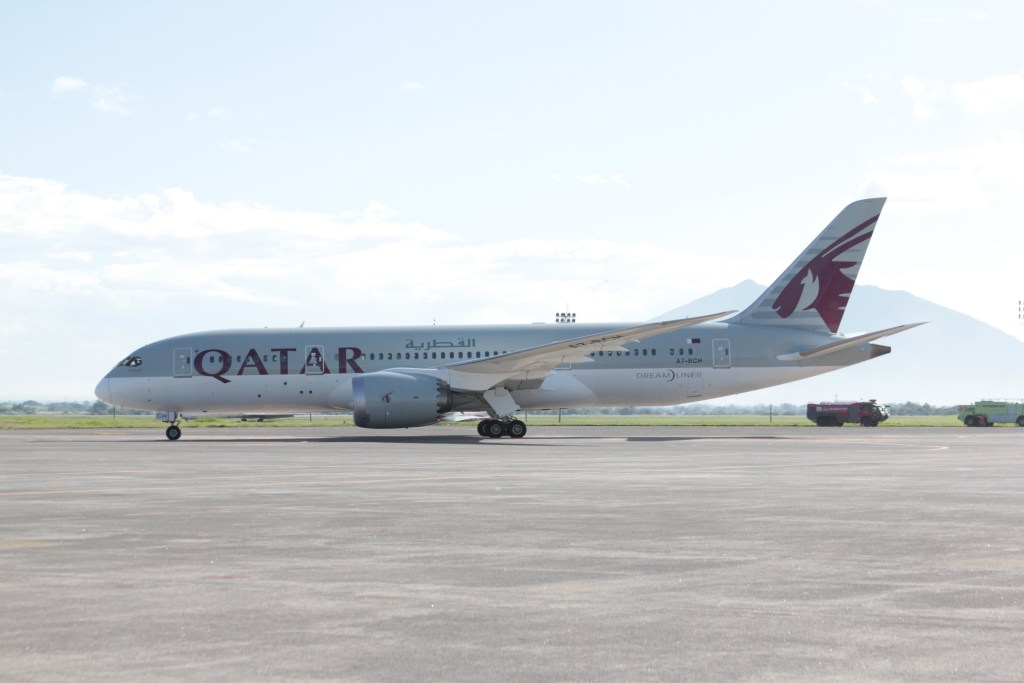 Qatar Airways 787. Flickr/Qatar Airways