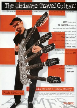 Rick Nielsen of Cheap Trick