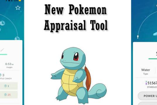 New Pokemon GO Update Helps Detect Best Pokemon Stats
