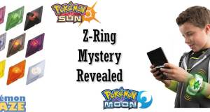 Pokemon Sun and Moon Z-Ring Mystery Revealed
