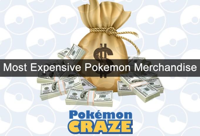most-expensive-pokemon-merchandise