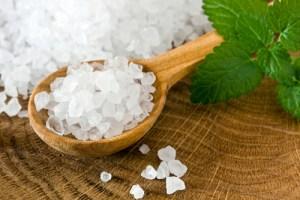Похудение с помощью соли ~ Соль и вода для похудения
