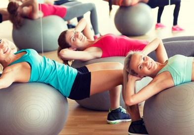 Похудение живота с помощью фитбола