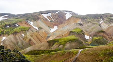 Landmannalaugar - krótki trekking przez Tęczowe Góry