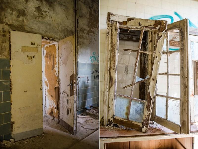 Opuszczony szpital dla chorych na gruźlicę w Beelitz (2)