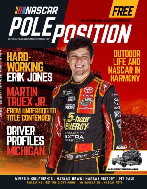 NASCAR Pole Position Michigan in August 2017
