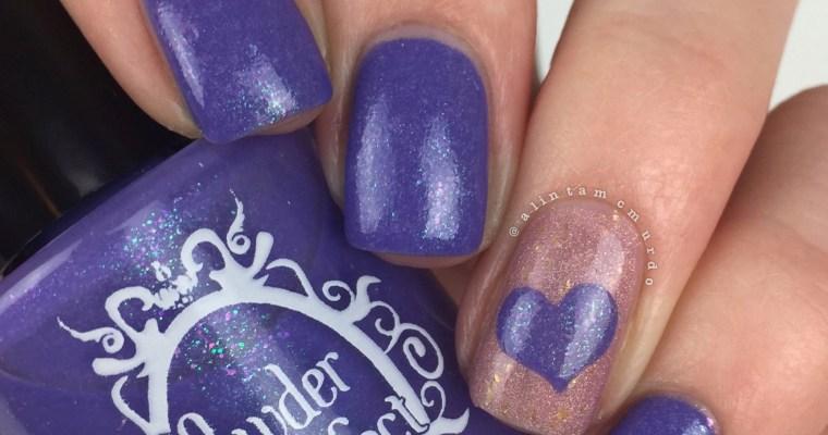 wear it purple nails 2