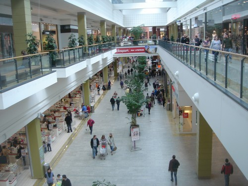 mall in Poland