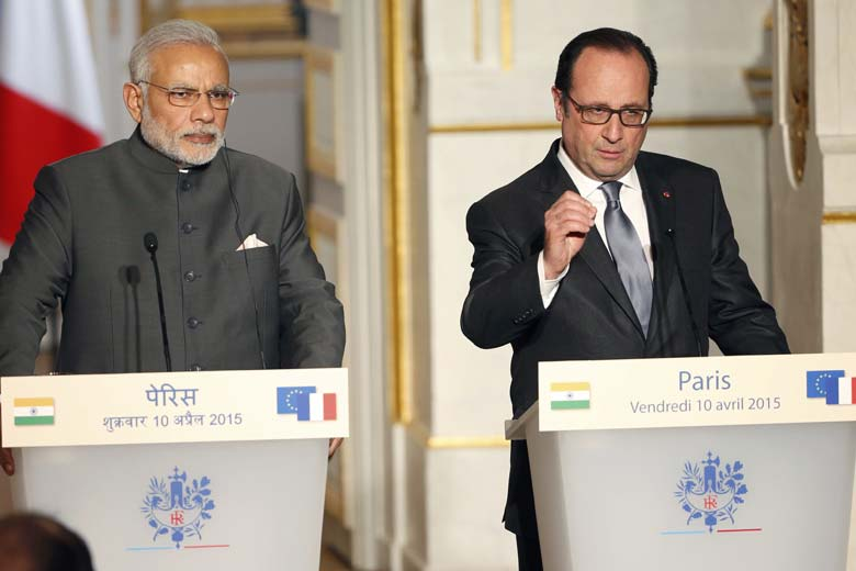 Modi-Hollande-Re