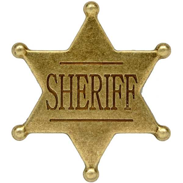 donald trump sheriff badge