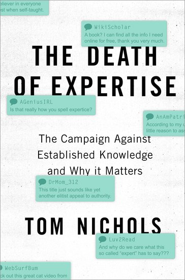 the death of expertise tom nichols review