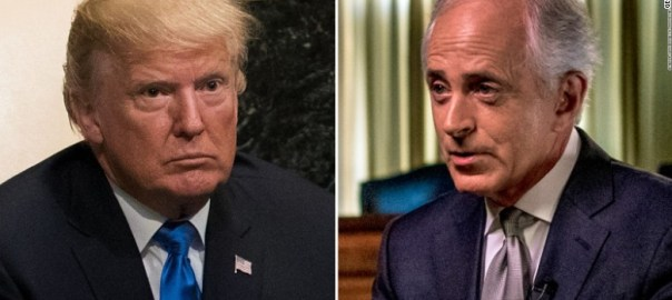 trump and corker