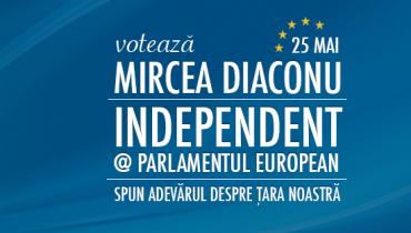 La Europarlamentare au reusit sa intre, de-a lungul timpului, 3 independenti: Elena Basescu, Mircea Diaconu si Lazlo Tokes. Foarte independenti de felul lor :)