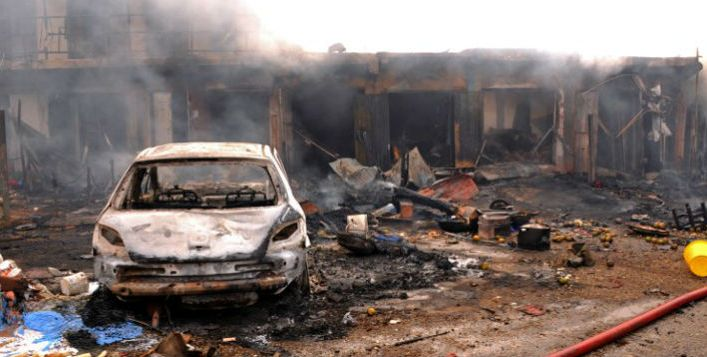 Boko Haram's attack in Nigeria. Photo: Diario Critico de Venezuela