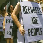 Protesto em favor de refugiados em Perth, na Austrália. Foto: Louise Coghill / Creative Commons / Flickr