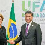 Dilma Rousseff e Xi Jinping, presidente da China. Foto: Roberto Stuckert Filho/ PR