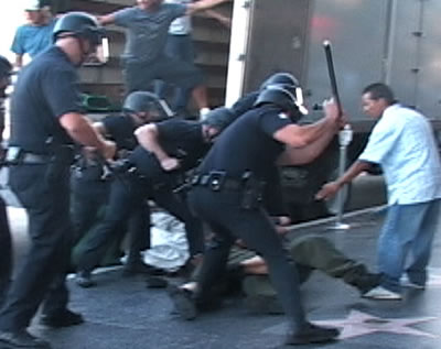 LAPD beating. Sgt. winds up