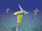 Underwater turbine. Verdant Power