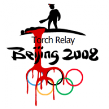 SF protest against Olympics Torch