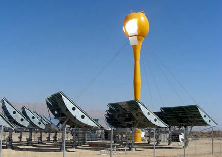 aora solar thermal tower