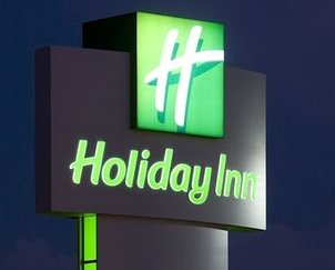 holiday inn LED sign