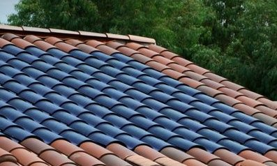 clay solar roof