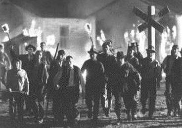 mob pitchforks