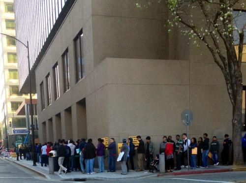 San Jose IRS TAC line
