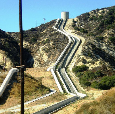 Los Angeles Aqueduct at Sylmar