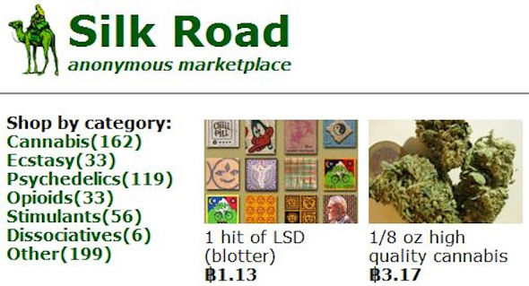 Silk Road marketplace