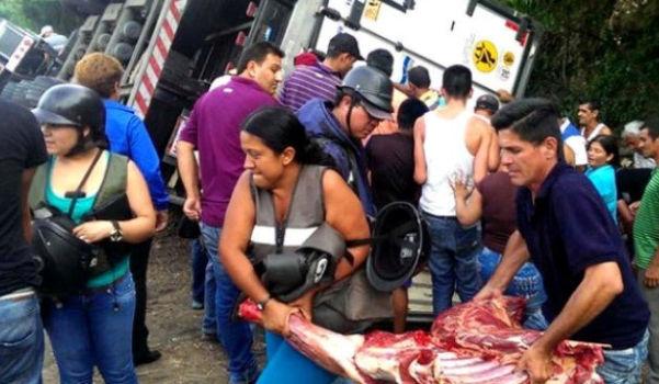 Venezuela looting