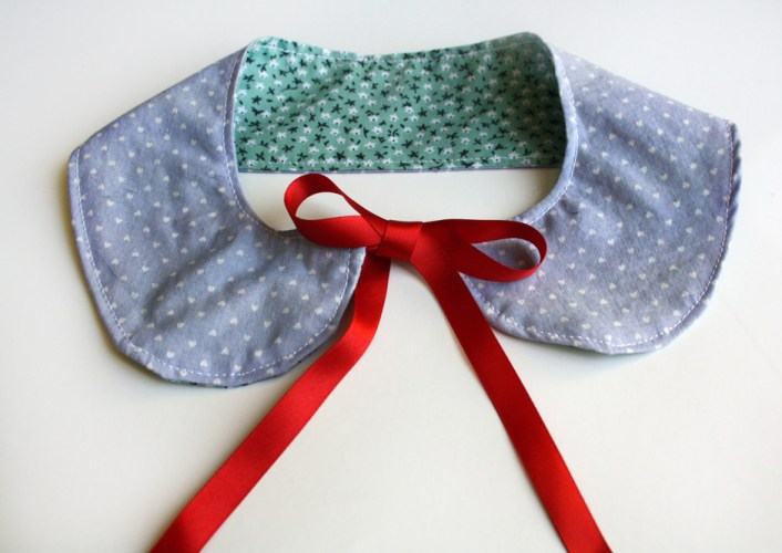 Free Peter Pan Collar Tutorial, DIY