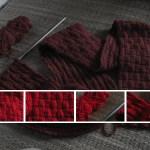 Hướng dẫn đan khăn len mẫu đơn giản và đẹp