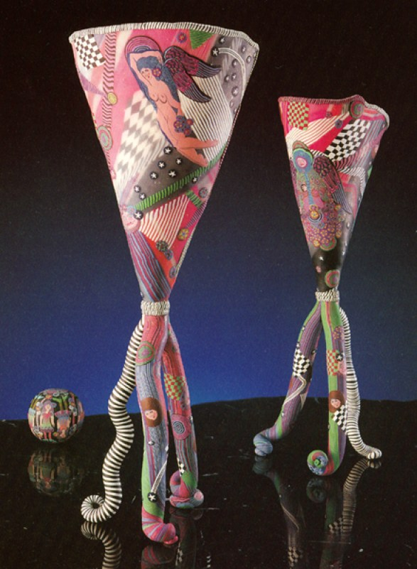 Kathleen Dustin, Angel's Goblets, 1989