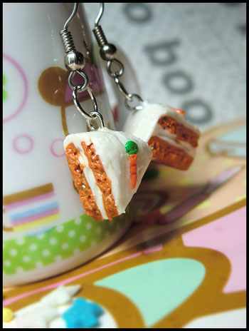 polymer clay  miniature foods